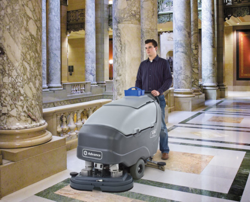 advance scrubbers